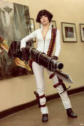 Lady (DMC3) Alternate costume by Narga-Lifestream