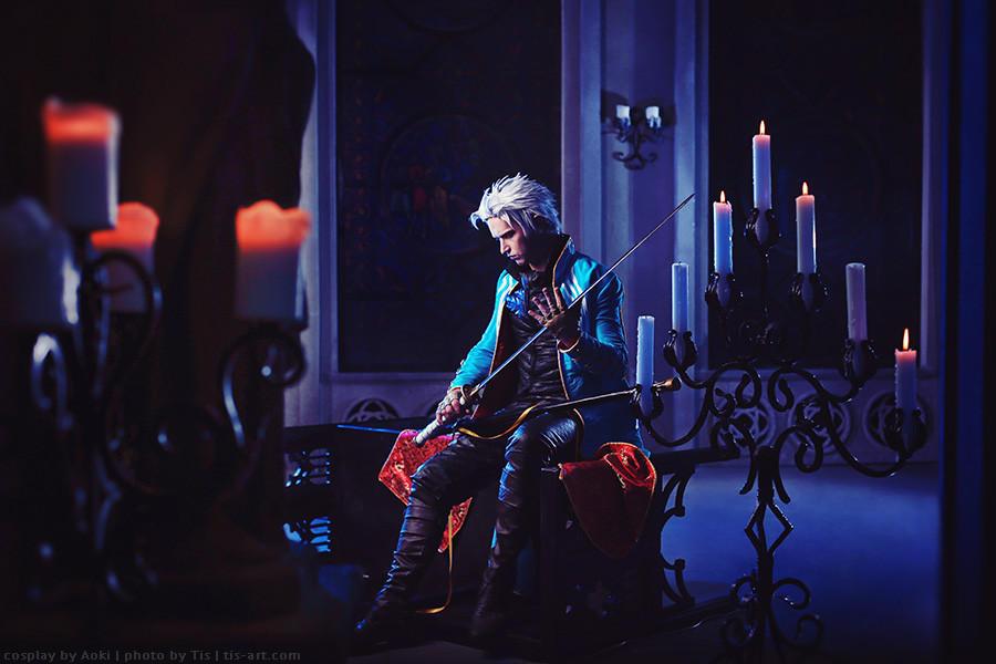 Waiting - Devil May Cry 3: Vergil by Narga-Lifestream