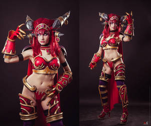 Alexstrasza the Life-Binder by Narga-Lifestream