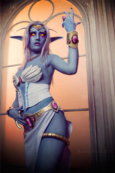 Azshara, Queen of Kalimdor by Narga-Lifestream