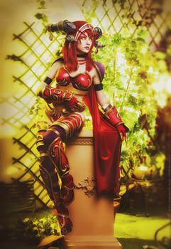 Alexstrasza the Dragonqueen by Narga-Lifestream