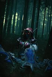 The Dark Lady - Sylvanas Windrunner by Narga-Lifestream