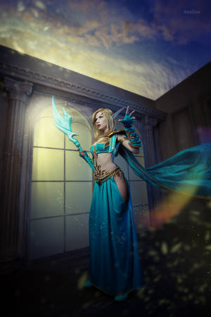 Glory to the Sin'dorei - Blood elf cosplay by Narga-Lifestream