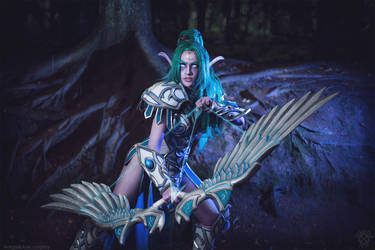 For Kalimdor! - Tyrande Whisperwind - HotS/WoW by Narga-Lifestream