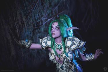 Tyrande Whisperwind - The Goddess calls by Narga-Lifestream