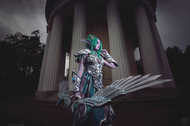 Tyrande Whisperwind - Someone threatens the wilds? by Narga-Lifestream