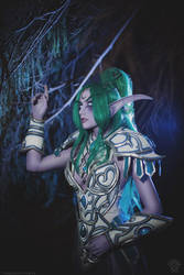 Tyrande cosplay by Narga-Lifestream