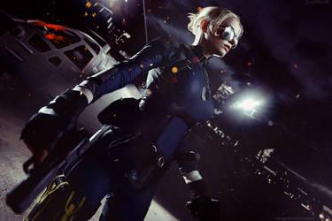 Sergeant Cassie Cage - Mortal Kombat X by Narga-Lifestream