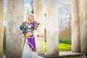 Jaina Proudmoore - Young Sorceress by Narga-Lifestream