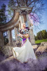 Jaina Proudmoore - Flows of Magic by Narga-Lifestream