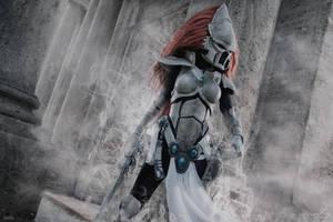 Dawn of War III - Eldar Howling Banshee cosplay by Narga-Lifestream