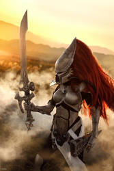 Eldar Howling Banshee by Narga-Lifestream