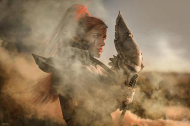 Howling Banshee - Behind the mask by Narga-Lifestream