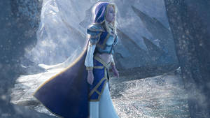 Jaina Proudmoore - Ice Crown by Narga-Lifestream