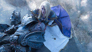 Arthas and Jaina - It's all over by Narga-Lifestream