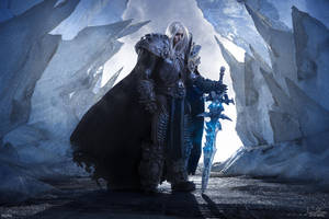Arthas Menethil - Frozen Throne by Narga-Lifestream