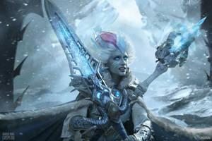 Frost Lich Jaina IX - New Queen by Narga-Lifestream