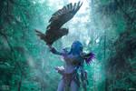 Tyrande Whisperwind - Night elf scout by Narga-Lifestream