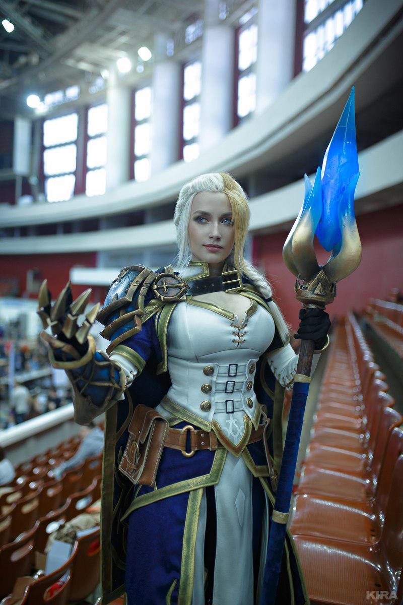 New costume - Jaina from Battle for Azeroth by Narga-Lifestream