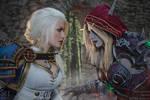 Battle for Azeroth - Jaina vs Sylvanas by Narga-Lifestream