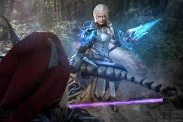 Jaina and Sylvanas - Admiral vs Warchief by Narga-Lifestream