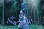 Tyrande Whisperwind - Tribute to Teldrassil by Narga-Lifestream