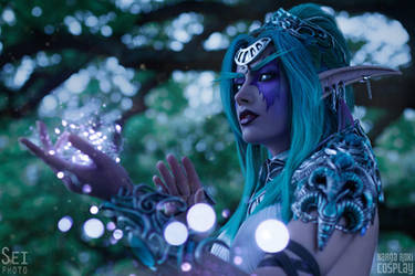 Tyrande - Ancient lights by Narga-Lifestream