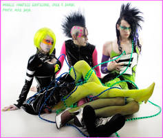 . cyber punk gender bender . by Countess-Grotesque