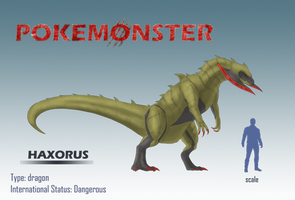 Pokemonster - Haxorus by MissMagnificent