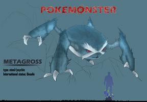 Pokemonster - Metagross by MissMagnificent