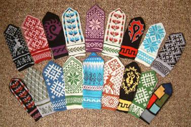 millions of mittens by natafka