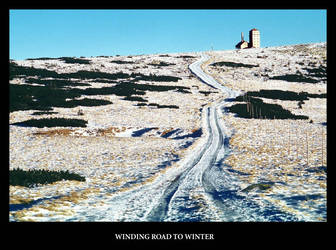Winding Road to Winter by gshegosh