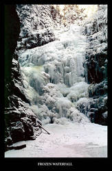 Frozen Waterfall by gshegosh