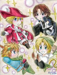 Final Fantasy Cosplay by Albels-wish