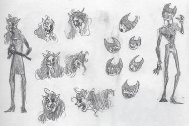 inky fremies sketches by Goshawk-Gyrefalcon