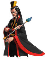 Zhuge Liang by motoichi69