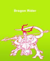 Dragon Rider by motoichi69