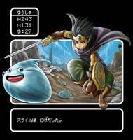 DQ3 Trying new sword by motoichi69