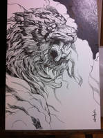 draw a tiger with Live Paint by motoichi69