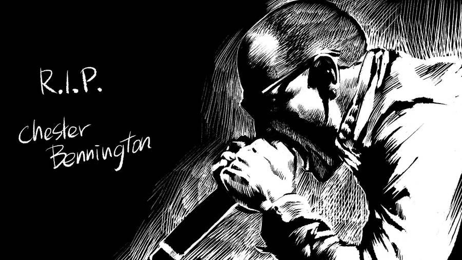 R.I.P. Chester Bennington by motoichi69