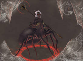 Drider Sorceress by BrandyWoods