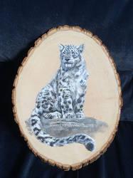 Snow Leopard - 'Renewed Perception' by BrandyWoods