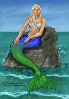 Mermaid Emilie by BrandyWoods