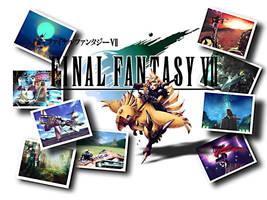Final Fantasy VII Wallpaper by Allemantheia