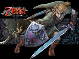 Zelda TP Wallpaper by Allemantheia
