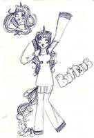 Buttons cosplay doodle by IchigoBunny