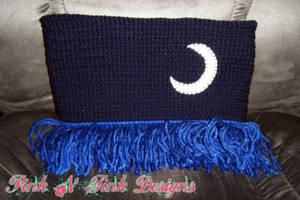 MLP: Luna Themed Infinity scarf by IchigoBunny