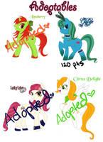 Pony Adoptables by IchigoBunny