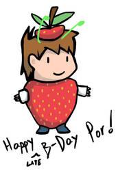 Happy (Late) B-Day Por! by desouza-ramiro