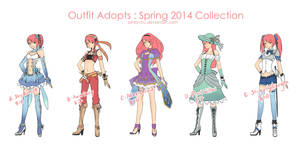 OUTFIT ADOPT Spring 2014 2/5 AVAILABLE by pinkyCHU